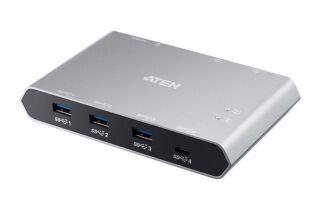 ATEN US3342 Switch KM Type-C + Type-A  - 2 ports