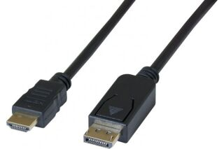 DACOMEX Sachet cordon DisplayPort 1.1 vers HDMI - 2 m