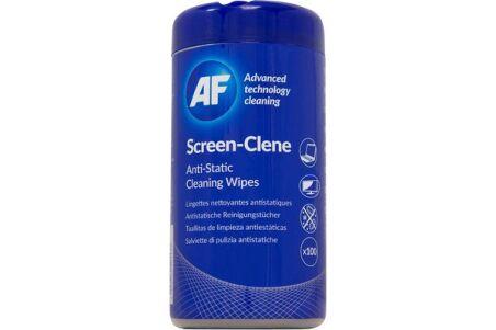 AF Boîte distributrice 100 lingettes nettoyantes pour écrans