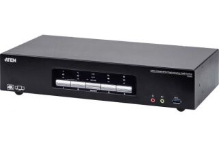 ATEN CS1964 KVM Triple DisplayPort/USB 3.0/Audio - 4 ports