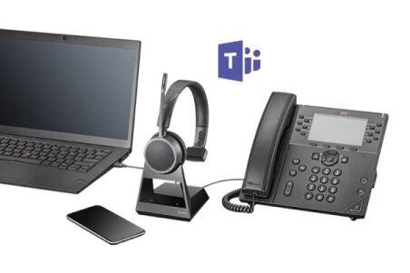 POLY Voyager 4210 Office Teams Casque 1 écout. TEL/GSM/USB-A