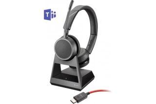 POLY Voyager 4220 Office Teams Casque 2 écout. TEL/GSM/USB-C