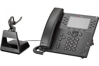 POLY Voyager 5200 Office Oreillette std Base TEL/GSM