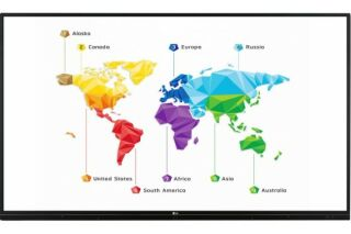 """LG afficheur tactile 65"""" 65TR3BF UHD IR 16/7 20 points"""