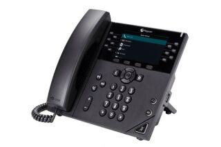 POLY VVX 450 téléphone de bureau IP PoE - 12 lignes SIP
