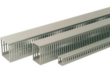 REHAU GOULOTTE CABLIX 40x40 PVC GRIS 2 m