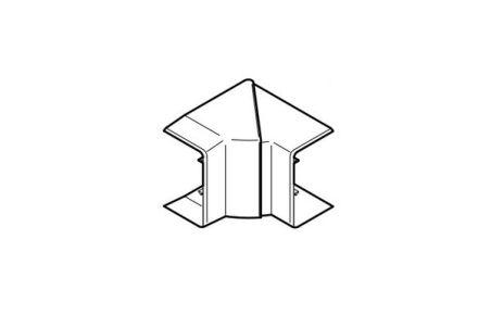 REHAU ANGLE INTERIEUR VARIABLE POUR GOULOTTE CLIDI 130x55 PVC BLANC