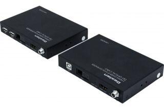 Prolongateur KVM HDMI / USB fibre optique 1m à 20 Kms