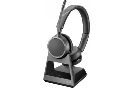 POLY Voyager 4220 Office Casque 2 écout. Base TEL/GSM/ USB-C