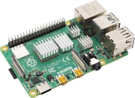 Lot de 4 dissipateurs pour  Raspberry Pi 4