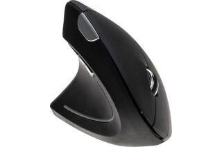 DACOMEX Souris verticale gaucher V150-WG sans fil noire