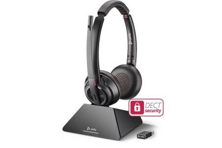 POLY SAVI 8220 UC USB-A Casque sans fil PC 2 écout.