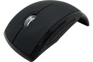 DACOMEX Souris pliable M150W sans fil nano USB noire