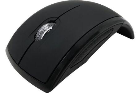 DACOMEX Souris pliable M150-W sans fil nano USB noire