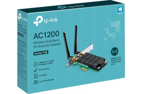 TP-LINK ARCHER T4E CARTE PCI-EXPRESS WIFI AC1200 DUAL BAND
