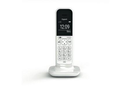Gigaset CL390 téléphone DECT Blanc Base + 1 combiné