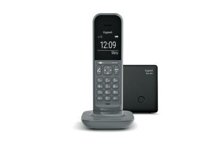 Gigaset CL390A téléphone répond. DECT Gris  Base + 1 combiné