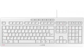 CHERRY Clavier STREAM KEYBOARD USB gris AZERTY (FR)