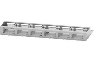 AT-MMCTRAY6 Plateau 1U pour 6 convertisseurs série MMC