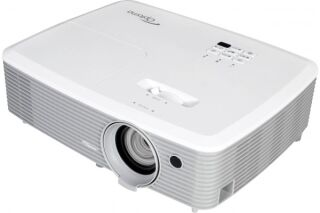 Optoma W400+ vidéoprojecteur DLP portable 3D 4000l WXGA 16:10 1080p LAN