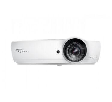 Optoma EH460ST vidéoprojecteur DLP 3D 4200l FHD 16:9 focale courte Wi-Fi/LAN