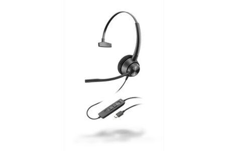POLY EncorePro 310 Casque filaire USB-C 1 écouteur