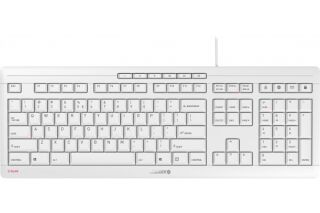 CHERRY Clavier STREAM KEYBOARD USB gris QWERTY (US)