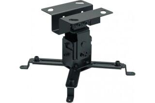 Support vidéoprojecteur plafond, bras de 130 mm, platine