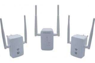 Prolongateur porté WiFi Base + 2 satellites AC1200