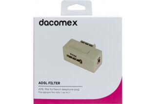 DACOMEX Prise gigogne filtre ADSL T vers RJ11