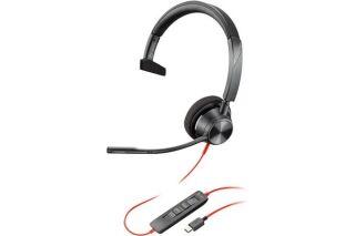 POLY Blackwire BW3310-M casque USB-C - 1 écouteur