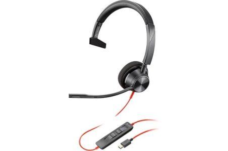 POLY Blackwire BW3310 casque USB-C - 1 écouteur