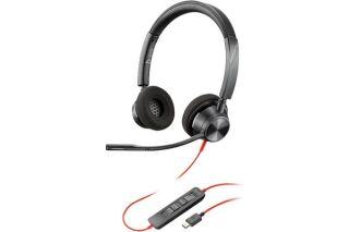 POLY Blackwire BW3320-M casque USB-C - 2 écouteurs