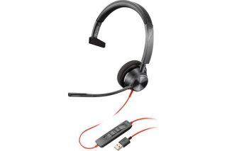 POLY Blackwire BW3310 casque USB-A - 1 écouteur