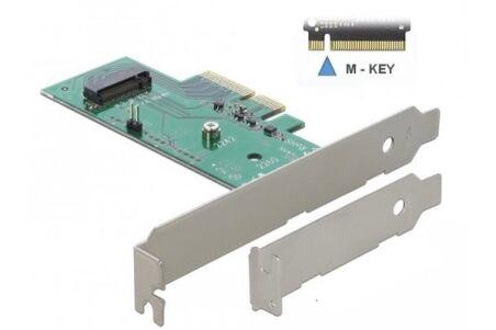 Adaptateur PCI Express pour 1 SSD M2 NVMe (mode PCIe)
