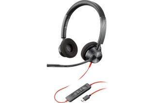 POLY Blackwire BW3320 casque USB-C - 2 écouteurs