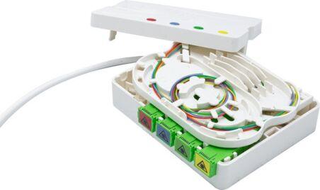 PTO / DTIO 4 SC/APC câble abonné G657 - 20 m