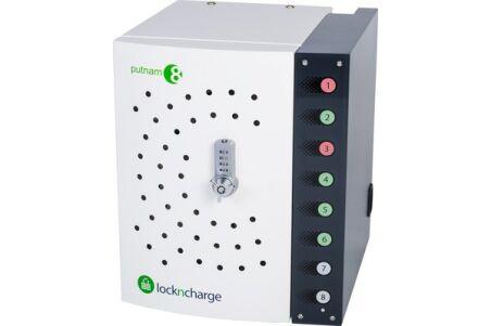 Lockncharge PUTNAM 8  armoire 8 appareils à connectique Lightning