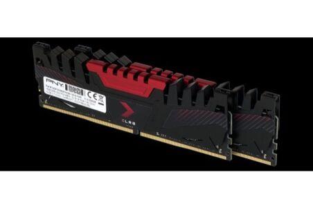 Mémoire PNY XLR8 DIMM DDR4 3200 32Go - kit 2x16Go