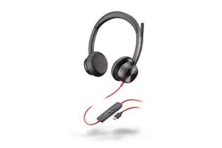 POLY Blackwire BW8225 Micro-casque USB-C ANC- 2 écouteurs