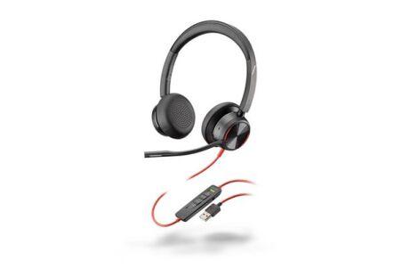 POLY Blackwire BW8225-M Micro-casque USB-A ANC- 2 écouteurs