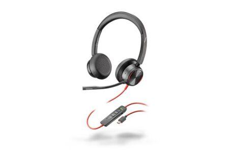 POLY Blackwire BW8225-M Micro-casque USB-C ANC- 2 écouteurs