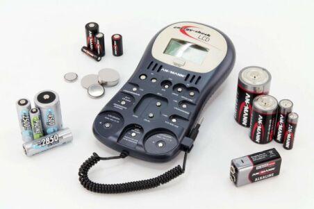 ANSMANN Energy Check LCD testeur toutes piles et batteries