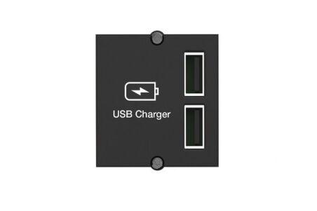 Plastron chargeur 2 ports USB