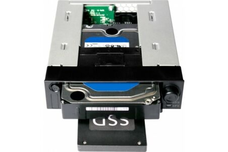 "ICY DOCK Rack DuoSwap MB971SP-B 1 disque SATA 3.5""+ 1 x 2,5"""