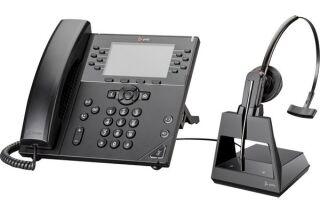 POLY Voyager V4245-M Office Teams Casque 1 écout. TEL/GSM/USB-A