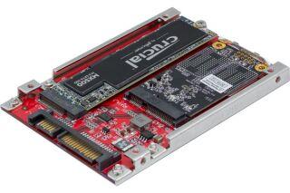 "Disque SATA 2,5""  pour SSD M.2. SATA ou mSATA"