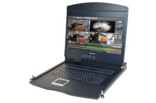"""Console LCD courte 16/9""""  HDMI 1080p / USB pour BAIE 600"""