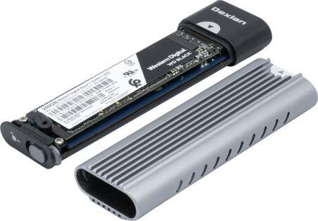 Boîtier sans outil SSD M.2 NVMe USB-C 3.2 Gen2 10Gbps