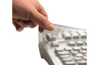 CHERRY Membrane de protection pour clavier KC 1000, DW 3000, KW 2000, DC 2000